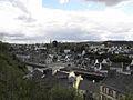 Châteaulin (29) Ville vue de la chapelle Notre-Dame.JPG