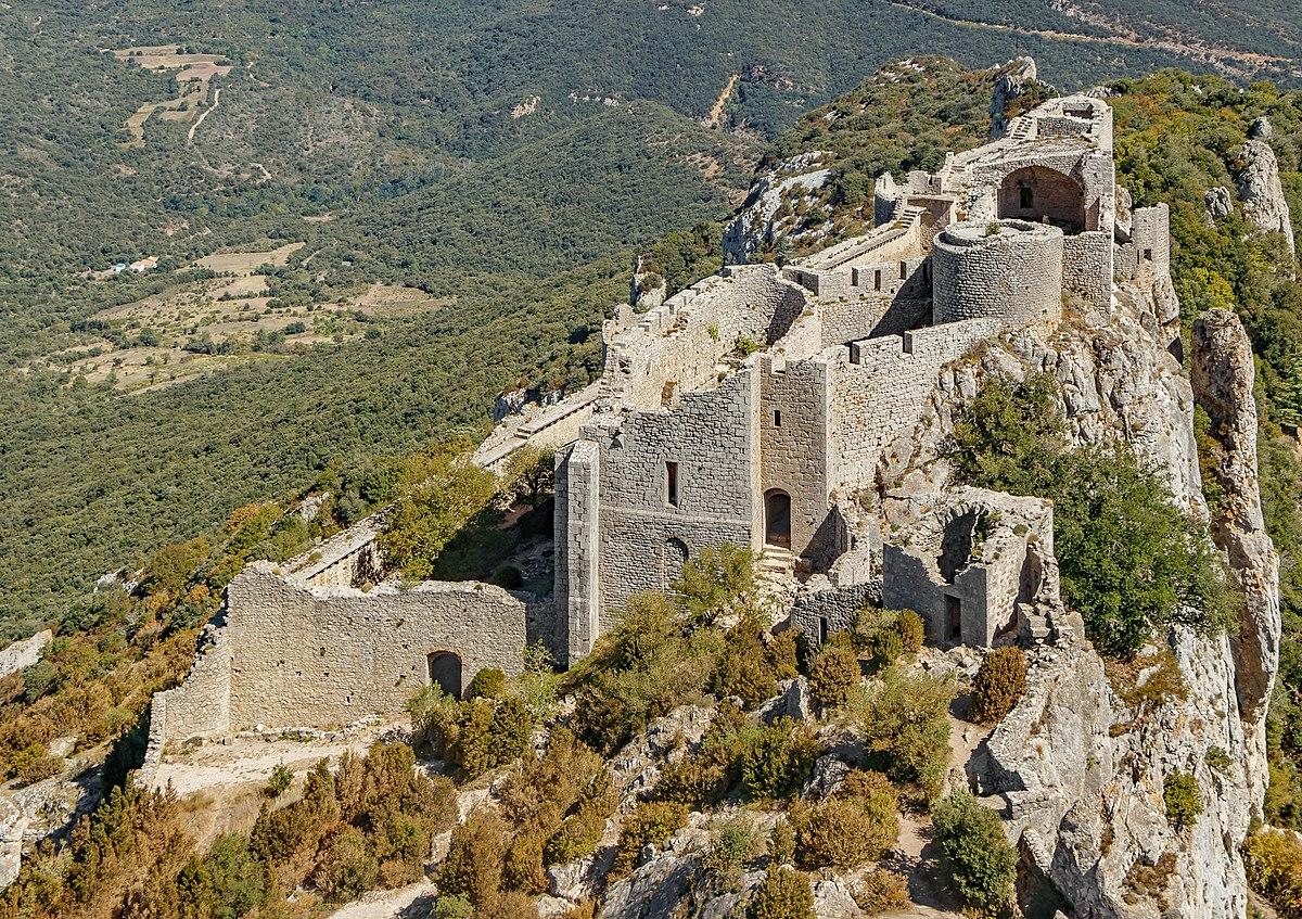 Burg Peyrepertuse – Wikipedia