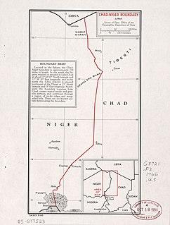 Chad–Niger border