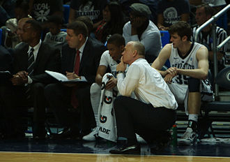 Tim Frazier - Chambers speaks to Frazier on the sidelines