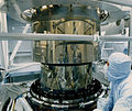Chandra telescope mirror assembled Hrma7 300.jpg