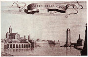 The old harbour during the Venetian era