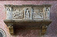 Chapel of Pius V Santi Giovanni e Paolo (Venice) - Monument to the doge Giovanni Dolfin.jpg