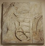 Charioteer relief from Acropolis museum (replica in Pushkin museum) 01 by shakko.jpg