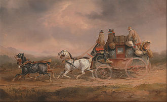 Royal Mail - The Louth-London Royal Mail, by Charles Cooper Henderson, 1820