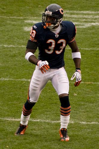 Charles Tillman - Tillman with the Bears in 2008