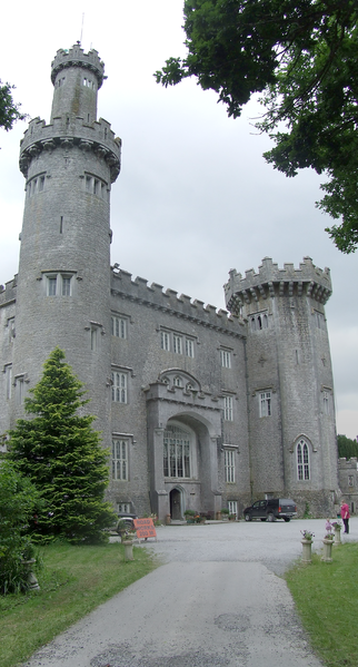 Charleville Castle in Co. Offaly, Ireland