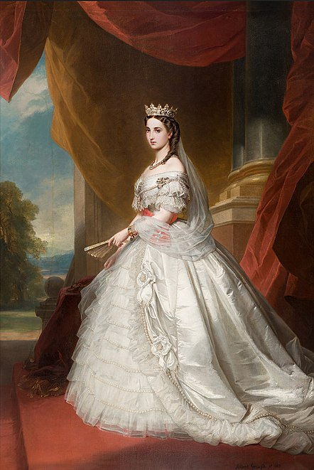 Archivo:Charlotte, Empress of Mexico.jpg