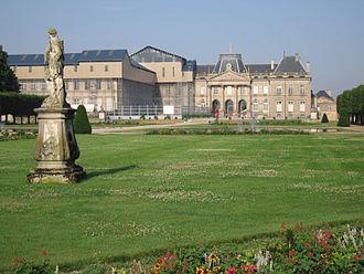 Émilie du Châtelet - The chateau of Lunéville