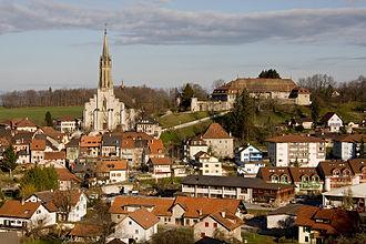 Châtel-Saint-Denis - Image: Chatel St Denis