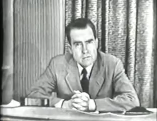 Checkers speech Speech made by Richard Nixon