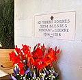 Chenonceau, memorial.JPG