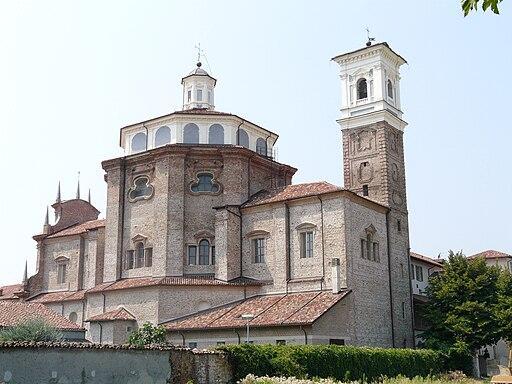 Cherasco-santuario madonna del popolo-complesso
