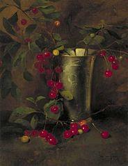 Cherries in a Tin Mug