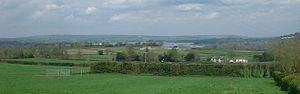 Chew Valley - The Chew Valley as seen from East Harptree