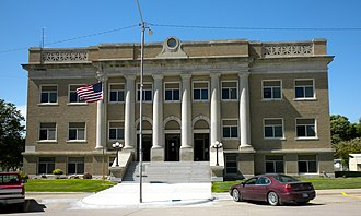 Cheyenne County, Kansas - Image: Cheyenne Co KS Courthouse