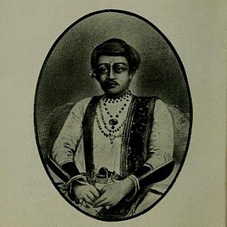 Pratap Singh, Raja of Satara Chhatrapati of the Maratha Empire