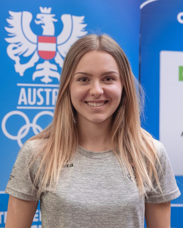 Chiara H%C3%B6lzl - Team Austria Winter Olympics 2018