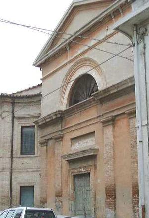 Gaetano Bedini - Bedini Church at Senigallia.