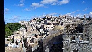 Erice Comune in Sicily, Italy