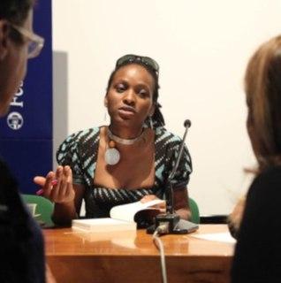 Chika Unigwe Nigerian-born Igbo author