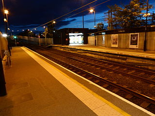 Chillingham Road Metro station Tyne and Wear Metro station in Newcastle upon Tyne