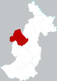 Location of Youhao District in Yichun