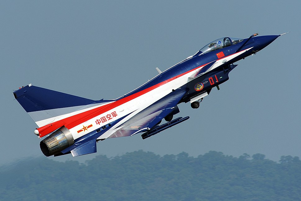 China airforce J-10