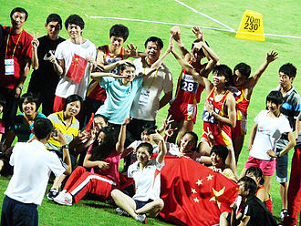 Youth sports - Youth athletes at the 2010 Summer Youth Olympics