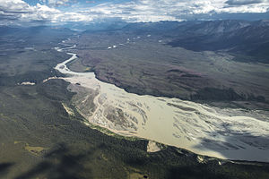 Chitina River Below the Nizina River and Chakina River Confluences (20991403904).jpg