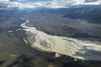 Chitina River - Chitina River below the confluences of the Nizina and Chakina Rivers
