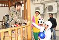 Chitter-chatter of young children fill the air as New Kabul Compound, Afghan Women's Bazaar springs to life 131023-A-WQ129-002.jpg