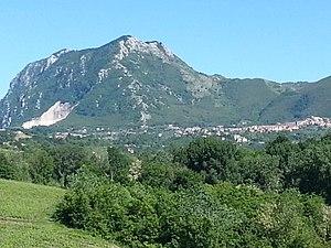 Chiusano di San Domenico - Monte Tuoro and Chiusano San Domenico.