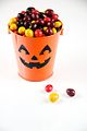 Chocolate Candies in Pumpkin Pail (5076897960).jpg