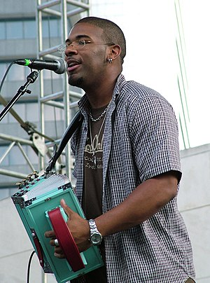 Chris Ardoin - Chris Ardoin performing in June 2005