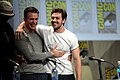 Chris Evans & Aaron Taylor-Johnson SDCC 2014 01.jpg