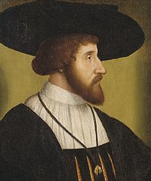 King Christian II of Denmark, Norway and Sweden died on January 25, 1559 ChristianII of denmark.jpg