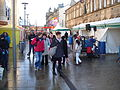 Christmas Light switch-on and Christmas Fayre, Nelson, Lancashire 2010.jpg