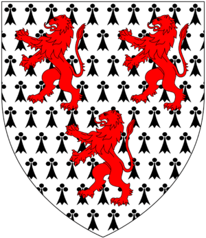 Chudleigh baronets - Image: Chudleigh Arms