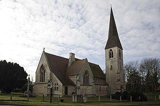 Waresley village in the United Kingdom