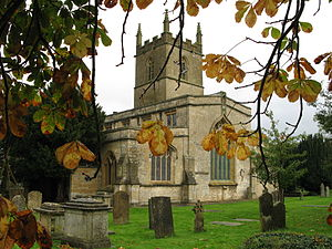 Stow-on-the-Wold - St Edward's Church