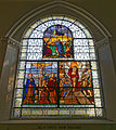 Church of St Mary Little Easton Essex England Maynard stained window 1.jpg