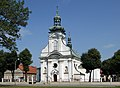 Church of the Conversion of St Paul, Uscie Solne village, Brzesko County, Lesser Poland Voivodeship, Poland.jpg