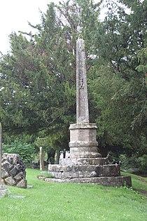 Churchyard Cross In Churchyard, 30 Metres East Of East End, Church Of St Mary.JPG