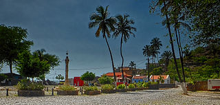 EN1-ST05 road in Cape Verde
