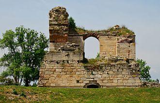 Edirne Palace - Cihannüme Kasrı (Panaromic Pavilion), main palace ruin.