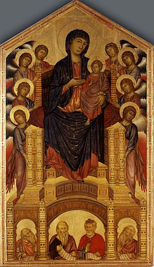1280s in art - Image: Cimabue 033
