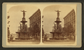 Cincinnati fountain, Cincinnati, Ohio, from Robert N. Dennis collection of stereoscopic views.png