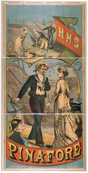 Circa 1879 Woodblock-print advertisement for a...