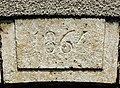 Clé de linteau, datée de 1864. Courchaton. (3).jpg